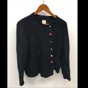 Garnet Hill Asymmetric Sweater